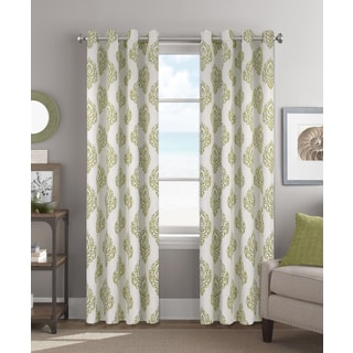 Colordrift Matteo 84-Inch Grommet Top Single Curtain Panel