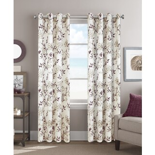 Colordrift Sadie 84-inch Grommet-top Single Curtain Panel