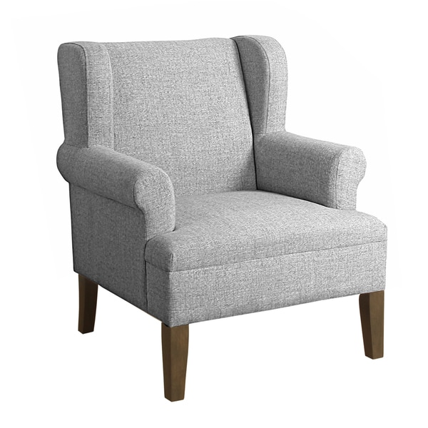 Shop Homepop Emerson Wingback Accent Chair Free Shipping