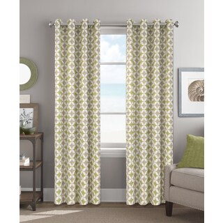 Colordrift Melinda Multicolored 84-inch Grommet-top Single Curtain Panel