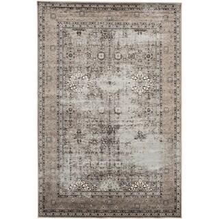 Ecarpetgallery Frost Ivory Viscose Rug (7'10 x 10'2)