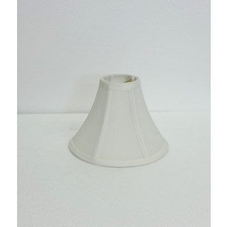 Round Off-white Silk Clip Shade