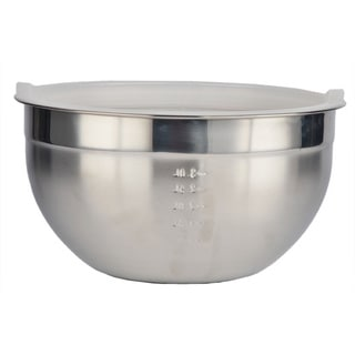 Prime Cook Stainless Steel 18 cm. Mixing Bowl with Lid