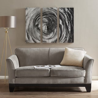 Madison Park Compass Rose Black/ White Gel Coat Canvas