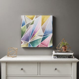 Urban Habitat Watercolor Prism 1 Multi Gel Coat Canvas