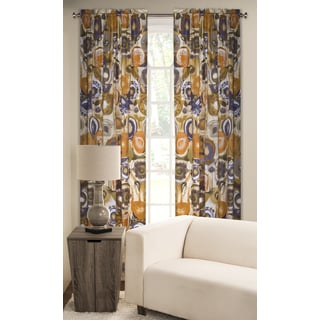 Enchanted Maze Rod Pocket Curtain Panel