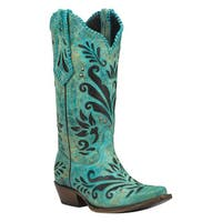 Black Star ZAVALA (Turquoise) Women's Cowboy Boots