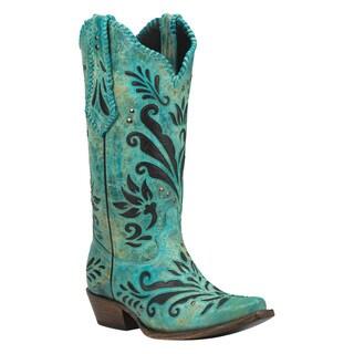 Black Star ZAVALA (Turquoise) Women's Cowboy Boots