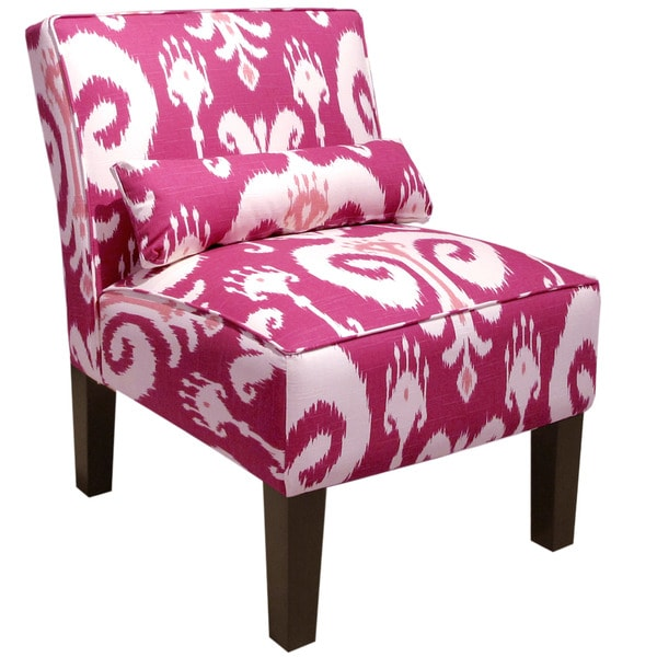 Shop Skyline Furniture Himalaya Raspberry Armless Chair - On Sale ...