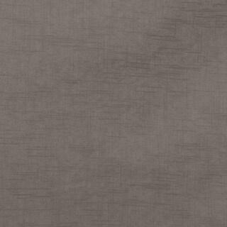 Skyline Furniture Grey Linen/Pine Round Cocktail Ottoman
