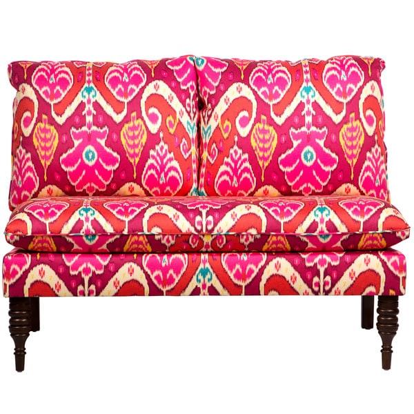 Shop Skyline Furniture Market Marvel Sunset Armless Love Seat - Free ...