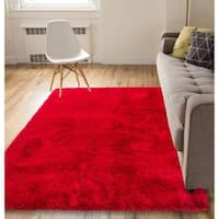 Well Woven Luster Modern Thick Shag Area Rug