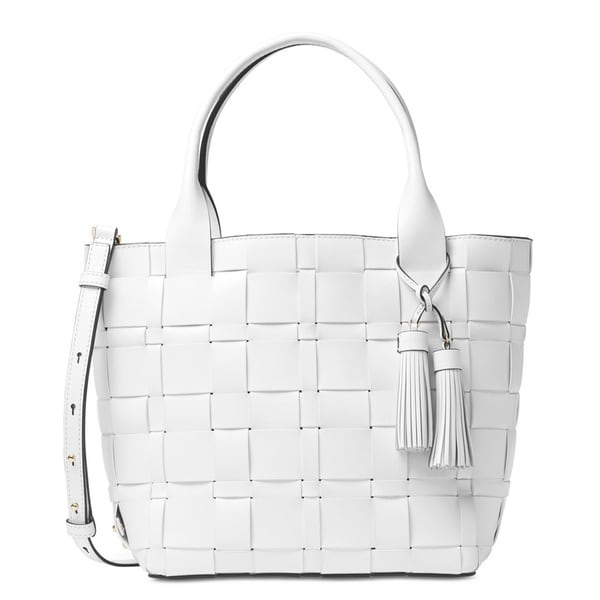 abaf803f7ef9 Shop Michael Kors Vivian Medium Tote - Optic White - On Sale - Free  Shipping Today - Overstock - 12495118