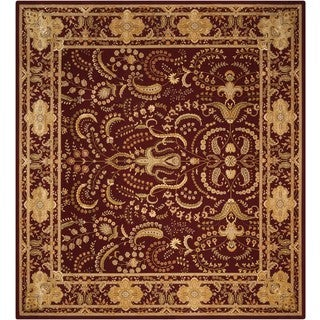Nourison Eastern Gate Burgundy Area Rug (12' x 18')