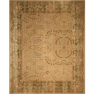 Nourison Eastern Gate Beige/Green Area Rug (12' x 18')