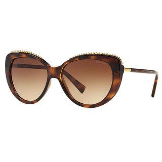 Coach HC8157-L137-512013 Cateye Dark Brown Gradient Sunglasses