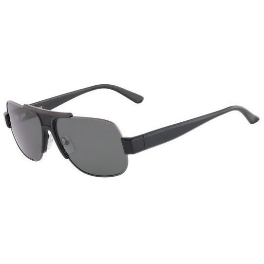 68bd97adf2 Shop Calvin Klein CK7363SP-001 Square Grey Sunglasses - Free Shipping Today  - Overstock.com - 12495392