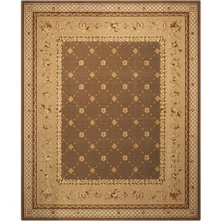 Nourison Chalet Green Area Rug (13' x 21')