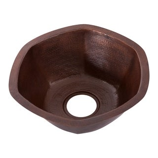 Novatto Navarre Antique Copper Single-basin Bar Sink