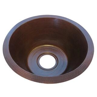 Novatto Managua Copper Round Antique-style Bar Sink|https://ak1.ostkcdn.com/images/products/12495464/P19304582.jpg?_ostk_perf_=percv&impolicy=medium