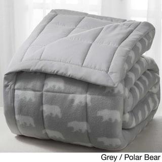 Winter Nights Microfleece Reversible Blankets