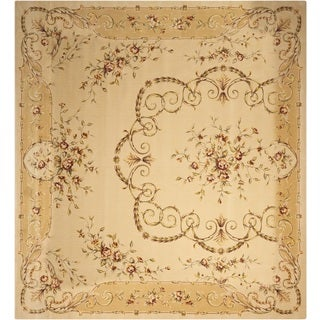 Nourison Chalet Ivory Area Rug (12' x 18')