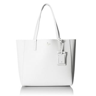Kate Spade Cape Drive Hallie Tote Bag - Bright White/Porcelain