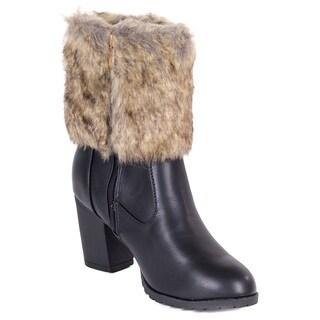 Women's Faux-fur Ankle Fashion Boots