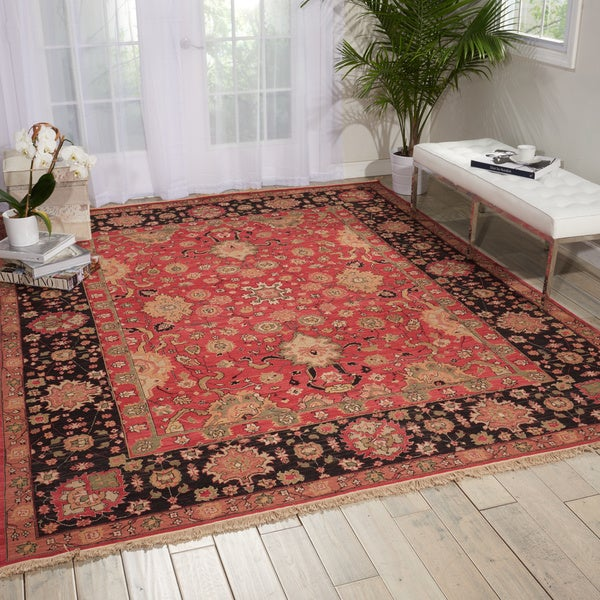 Nourison Millenia Red Area Rug (12' x 15') - 12' x 15'