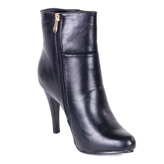 Women's Faux Leather Side-zipper Ankle Boots (More options available)