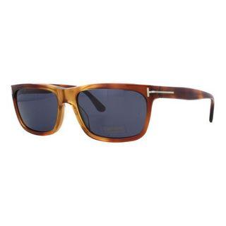 Tom Ford TF0337-52B Square Smoke Gradient Sunglasses