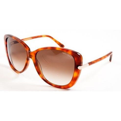 6b44be02fb Tom Ford TF0324-56F Oversized Brown Gradient Sunglasses - Free Shipping  Today - Overstock.com - 19304885