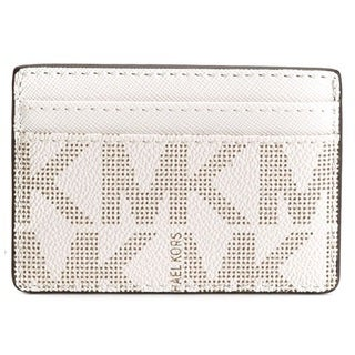 Michael Kors Jet Set Vanilla Signature Card Holder