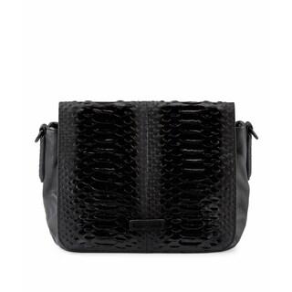 Liebeskind Berlin Katelyn Leather Snake-embossed Handbag