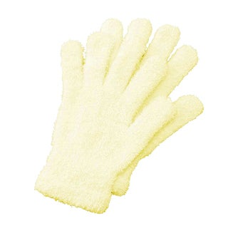 Bucky Pale Yellow Aloe Infused Spa Gloves