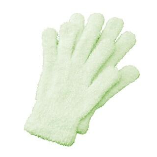 Shop Bucky Green Polyester Aloe Infused Mint Spa Socks