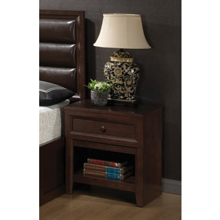 Coaster Company Cherry Wood Nightstand