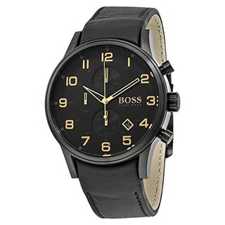 Hugo Boss Men's 1513274 Aeroliner Black Watch