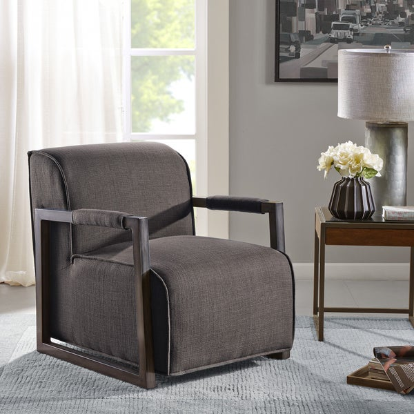 Beckett Metal Oversized Accent Arm Chair Free Shipping