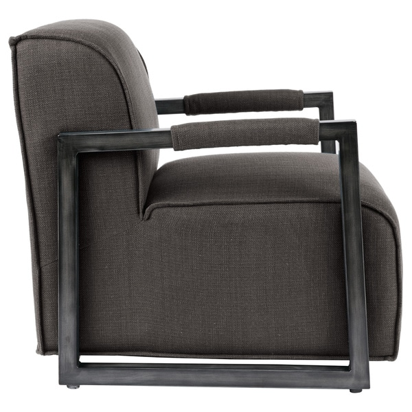 Beckett Metal Oversized Accent Arm Chair   Free Shipping Today    Overstock.com   19305146