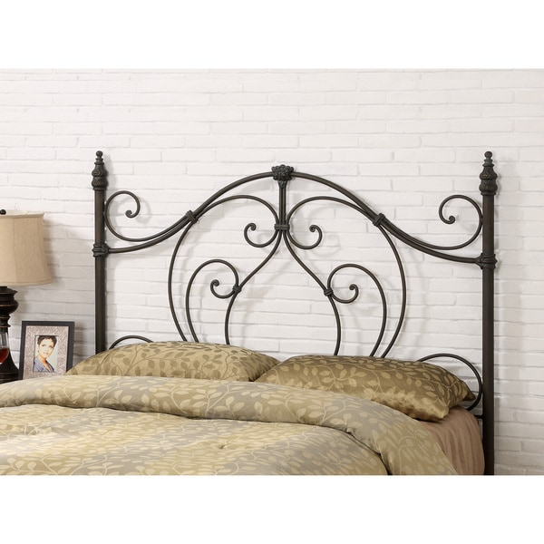 Shop Coaster Company Black Metal Full/Queen Headboard ...