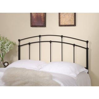 Coaster Company Modern Black Metal Headboard