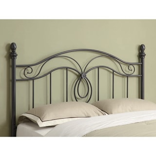 coaster company black and bronze butterfly wrought metal headboard full queen size bed free. Black Bedroom Furniture Sets. Home Design Ideas