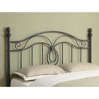 Coaster Company Grey Metal Queen-size Headboard
