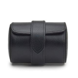 Blake Black Leather Single Watch Roll
