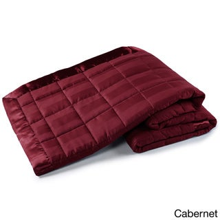 Ron Chereskin Down Alternative Woven Stripe Blanket