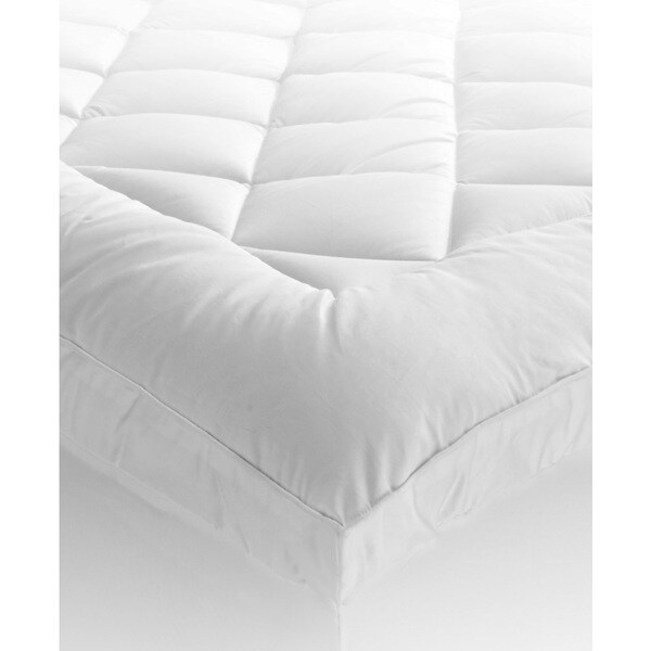 St. James Home Ultra Mattress Pad with Gusset - White