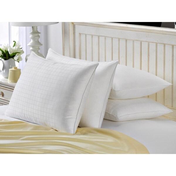 Hotel Luxe Set of 4 Memory Fiber 100-percent Cotton Pillow