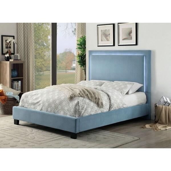 Shop Furniture Of America Fins Contemporary Blue