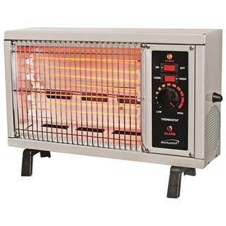 Brentwood White Radiant Heater